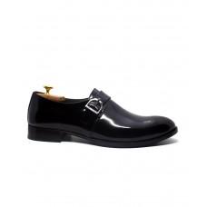 Hakiki Açma Deri Siyah Erkek Ayakkabı 2212