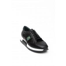 Hakiki Deri Siyah Erkek Spor Ayakkabısı 1893
