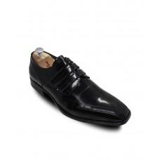 Hakiki Açma Deri Siyah Erkek Ayakkabı004