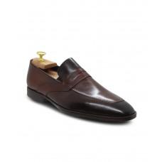 Hakiki Antik Deri Kahve Erkek  Klasik Ayakkabı 2588