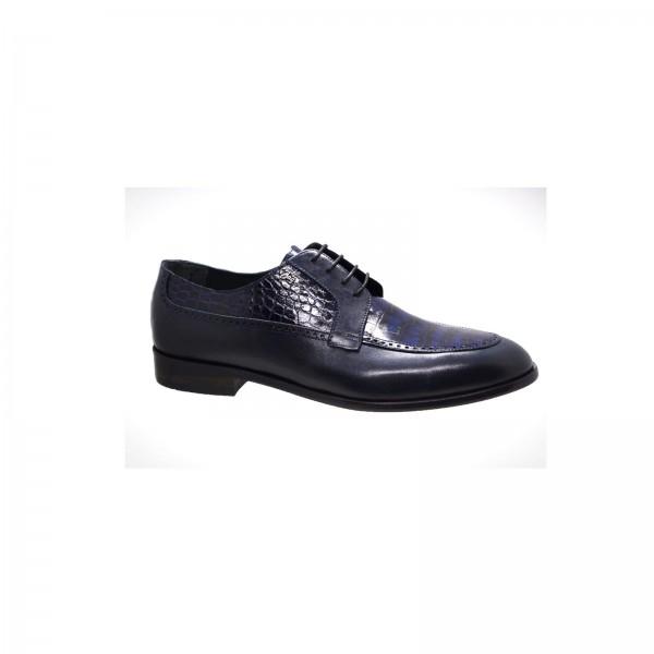 Hakiki Kroko Baskılı Erkek Ayakkabı Modelleri